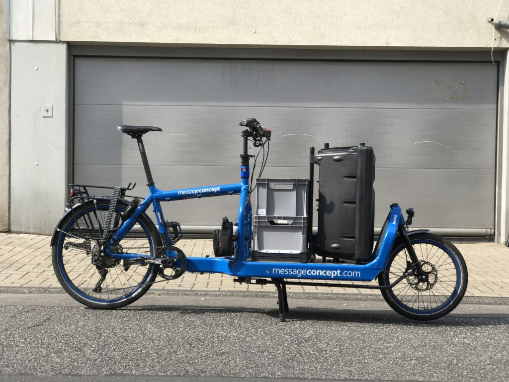 Emma - Bullitt Cargo Bike as Sound Bike