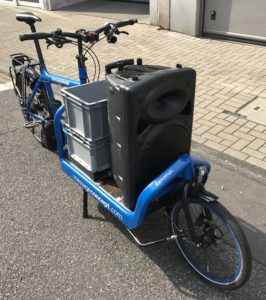 Emma - Bullitt Cargo Bike - Sound Bike Detail