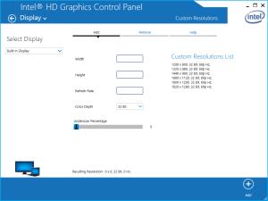 Surface Pro 3 und Custom Resolutions